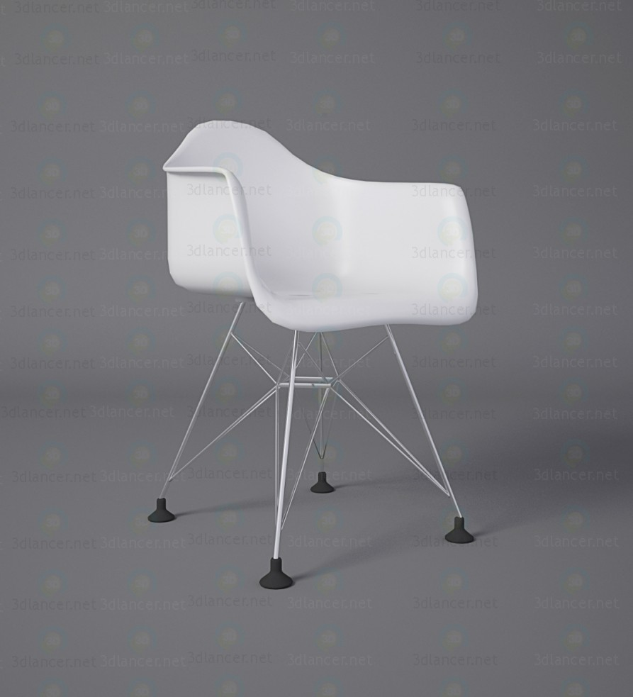 3d Chair eames model buy - render