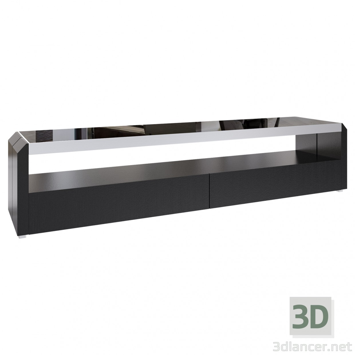 3d modell tv tische techno id 15758. Black Bedroom Furniture Sets. Home Design Ideas