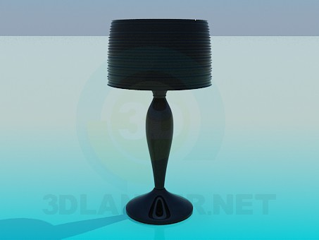 3d model Glass table lamp - preview