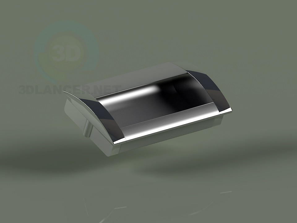 3d model Furniture handle-dc-96mm - preview