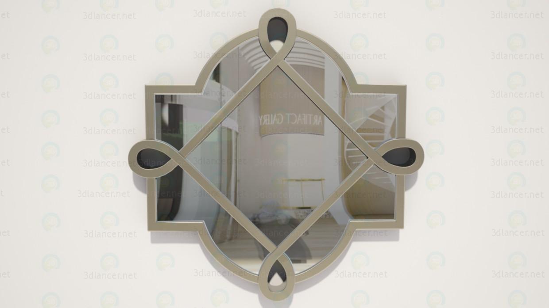 modelo 3D Espejo - escuchar