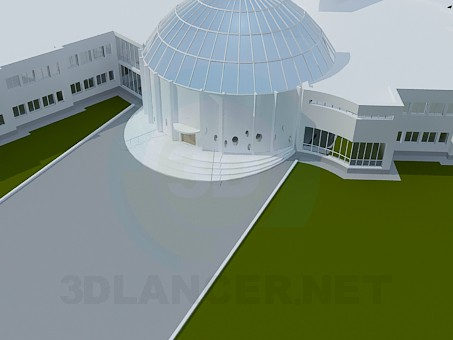 3d modeling Building model free download