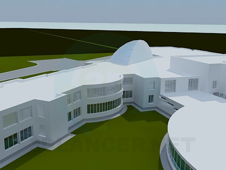 3d model Building - preview