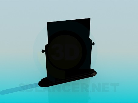 3d model Desktop mirror - preview