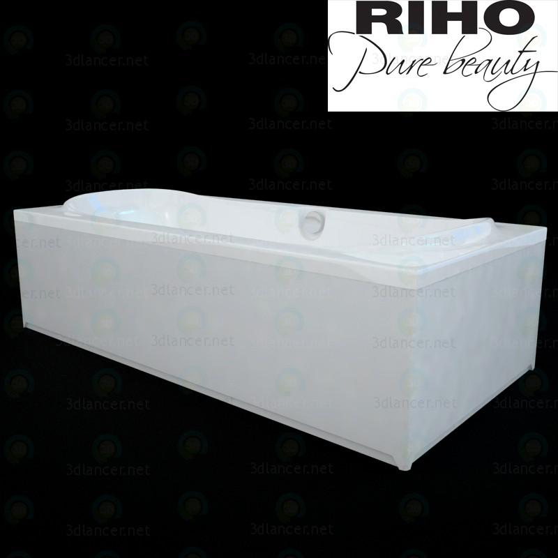 3d Ванна Riho Montreal модель купити - зображення