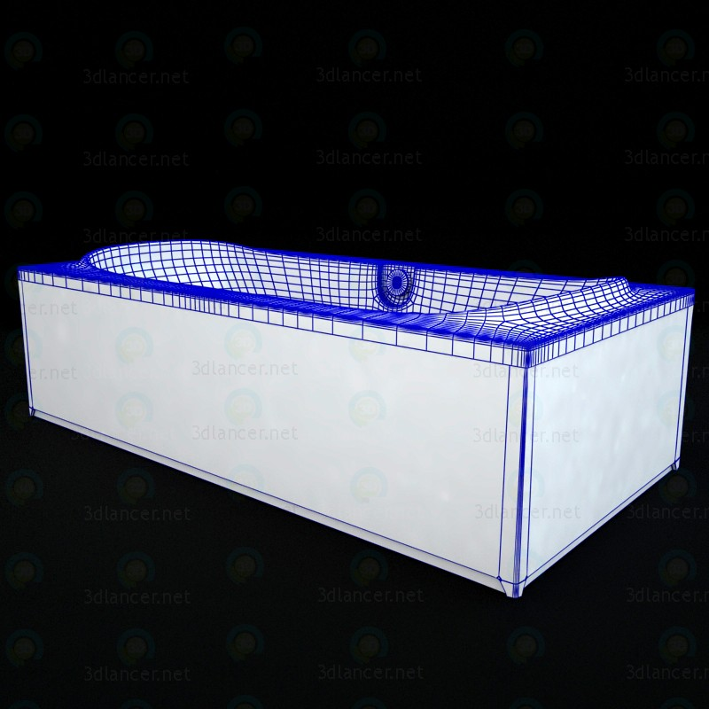 3d Bath Riho Montreal model buy - render