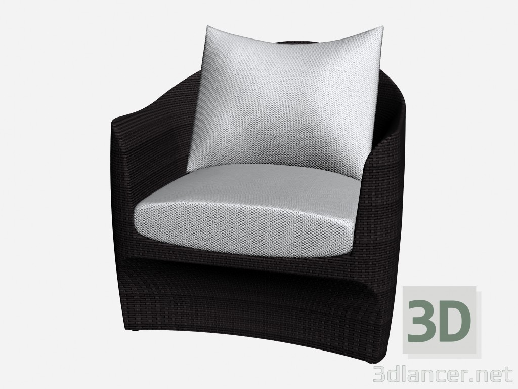 3d model Armchair Club Armchair 46200 46250 - preview