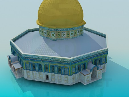 3d model Cathedral - preview
