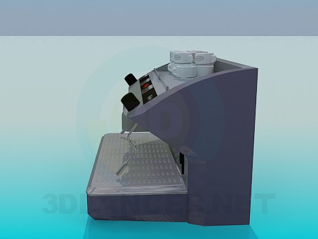 3d model Coffee machine for Cafe - preview