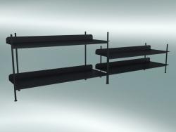 Compilazione del sistema rack (Configurazione 5, Nero)