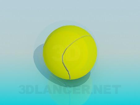 3d модель Теннисный мяч – превью