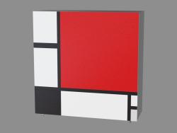 Комод Homage to Mondrian (РС18)