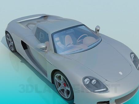 3d моделирование Porsche Carrera модель скачать бесплатно