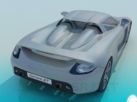modelo 3D Porsche Carrera - escuchar