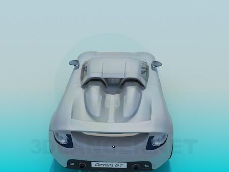 3d модель Porsche Carrera – превью