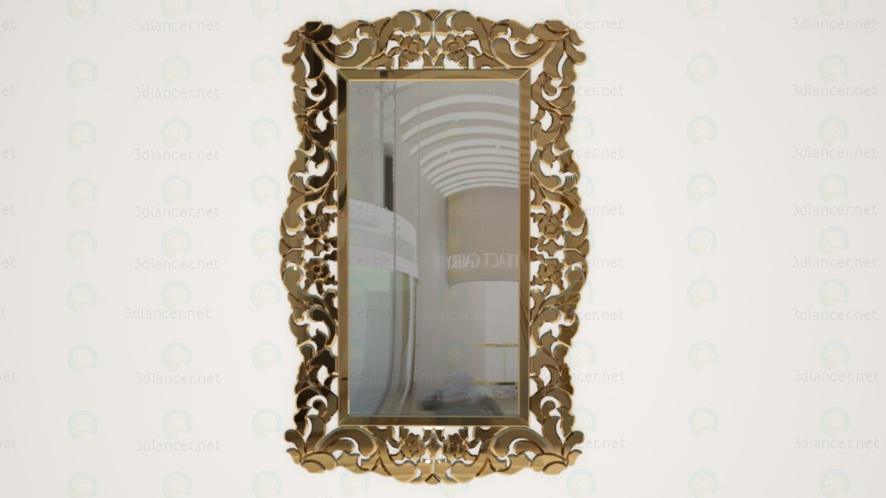 3d model mirror download for free for Mirror 3d model