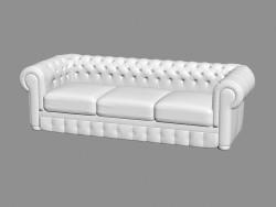Шкіряний диван (sl 1004)