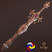 3d Fantasy sword 22 3d model model buy - render