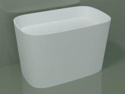 Vasque à poser (L 80, P 48, H 50 cm)
