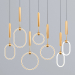 3d Glowing RING Suspension model buy - render