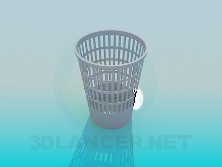 3d модель Урна для сміття – превью