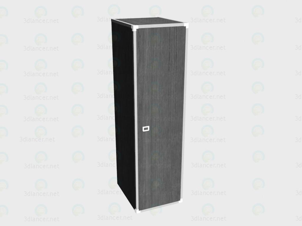 3d модель Шкаф 1-дверный – превью
