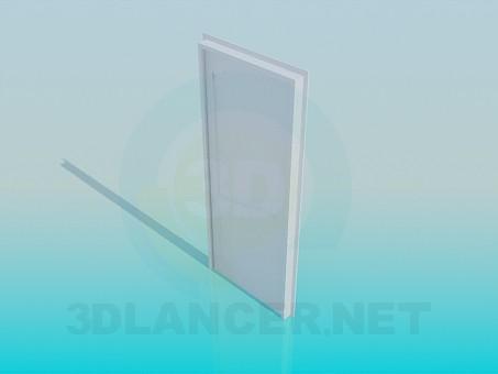 3d модель Дверь белая – превью