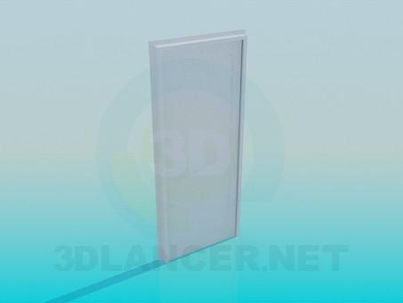 modelo 3D Puerta blanca - escuchar