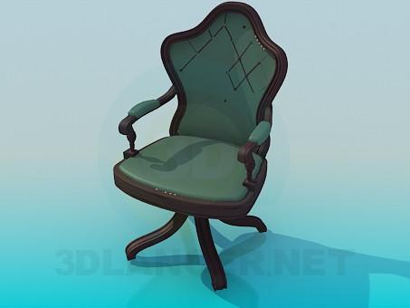 3d model Desk chair - preview