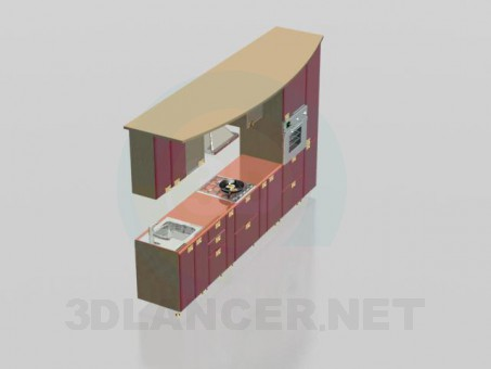 3d модель Гарнитура 1 – превью