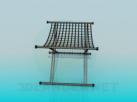 3d model Folding stool - preview