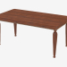 3d model Dining table (art. 5185, 170x90x78) - preview