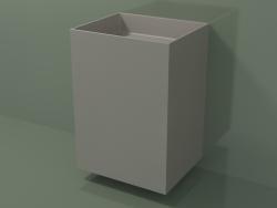 Wall-mounted washbasin (03UN36302, Clay C37, L 60, P 50, H 85 cm)