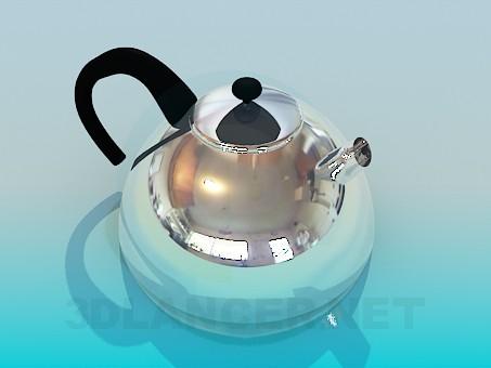 3d modeling Teapot model free download