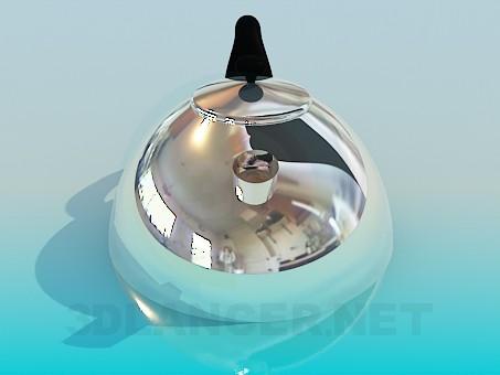 modelo 3D Tetera - escuchar