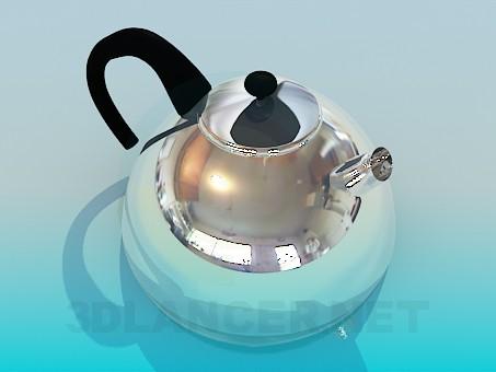 3d модель Чайник – превью