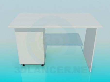 3d моделювання Письмовий столик модель завантажити безкоштовно
