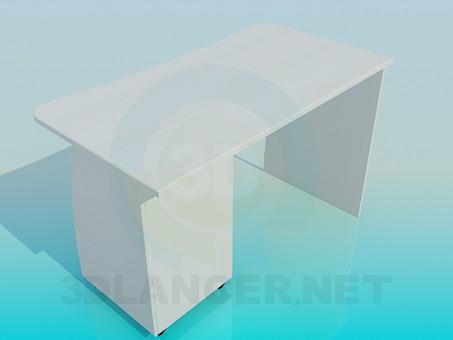 3d модель Письмовий столик – превью