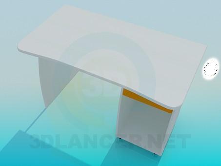 3d модель Письменный столик – превью