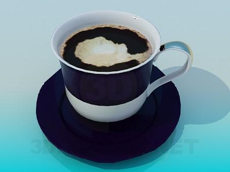 3d модель Чашка кофе – превью