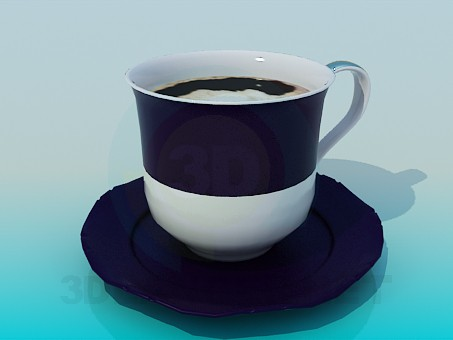 3d model Сup of coffee - preview