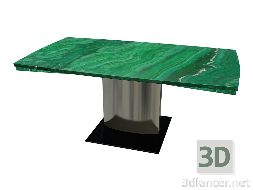 3d model Dining table 1222 Adler I (folded, 105x180x74) 4 - preview