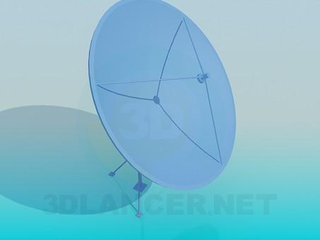 3d model Satellite antenna - preview