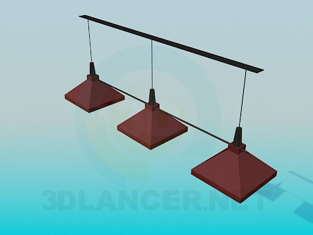 3d modeling Light for bar model free download