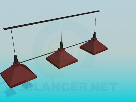 3d model Light for bar - preview