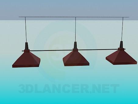 3d модель Светильник для бара – превью
