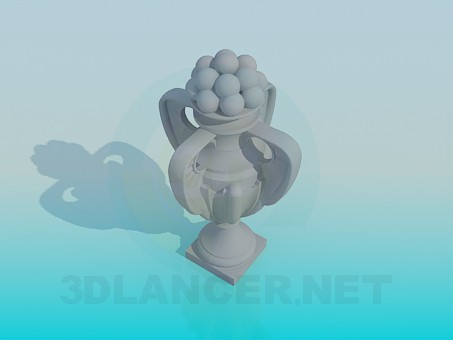 3d model Pitcher - preview