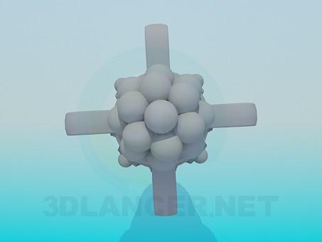 modelo 3D Lanzador - escuchar