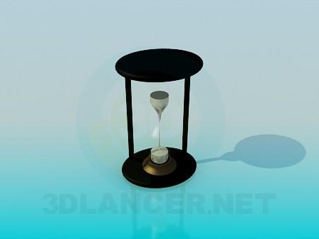 modelo 3D Reloj de arena - escuchar