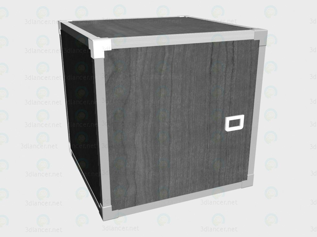 3d model Locker-cube VOX - preview